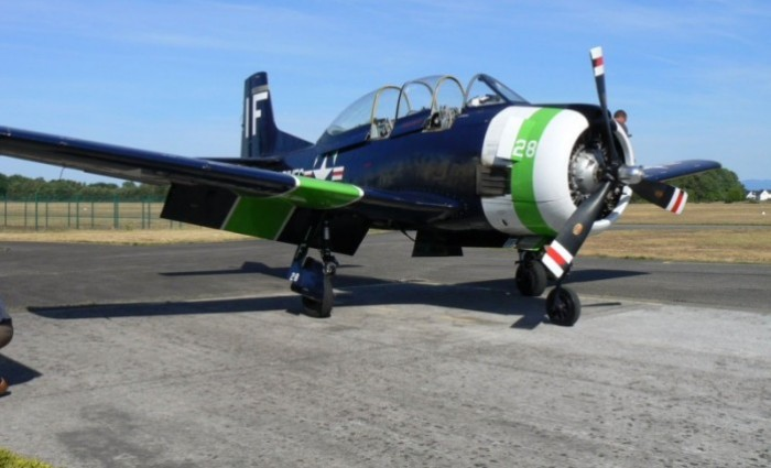 1954 NORTH AMERICAN T28 C  MARINE